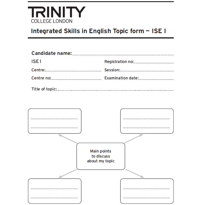 examen trinity granada